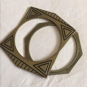 Jewelry - Super Cute vintage bangle bracelets (set)